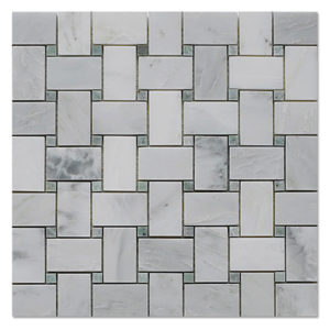 Basket-Mosaic-Statuary-White-with-Ming-Green