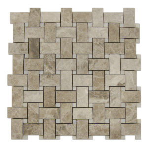 Basket-Weave-Mosaic-Nordic-Grey-with-White-Dots
