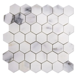 Calacatta-Gold-Mosaic-Hexagon-2x2