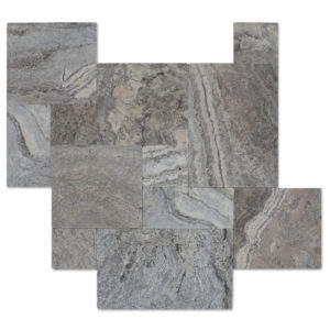 Silver-Travertine-Tumbled-Paver
