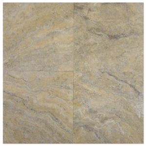 SilverTravertine-Filled-Honed