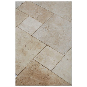 White-Travertine-french-pattern-Paver