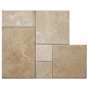 White-travertine-French-pattern-tile