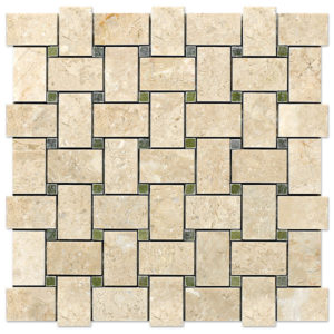 basket-mosaic-bursa-beige-with-verde-laguna-dots