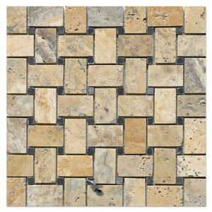 basket-weave-mosaic-honed-philadelphia-scabos-with-black-dots