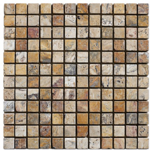 crimson-travertine-tumbled-mosaic-1x1