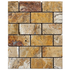crimson-travertine-tumbled-mosaic-2x4
