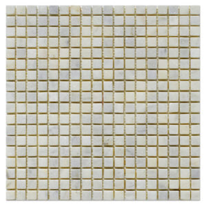 milas white  tumbled mosaic half by half