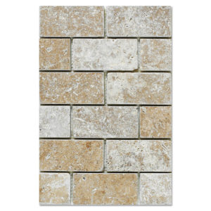 noce-travertine-mosaic-tumbled-2x4