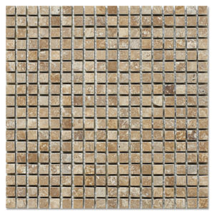 noce-travertine-mosaic-tumbled-half-by-half
