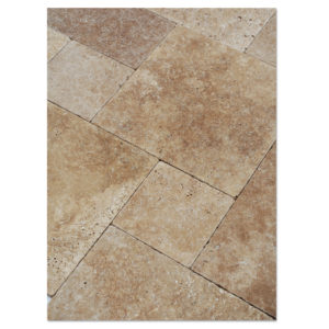 noce-travertine-tumbled-paver-pattern-set