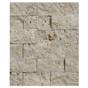 white-travertine-2x4-split-face-mosaic