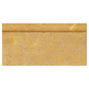 yellow-gold-travertine-base-moulding