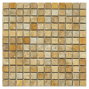 yellow-gold-travertine-mosaic-1x1-tumbled