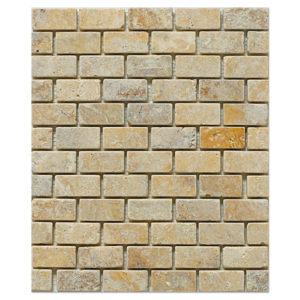 yellow-gold-travertine-mosaic-1x2-tumbled