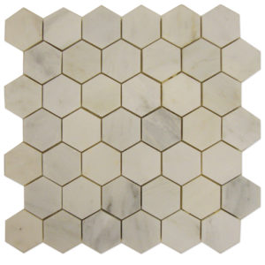 Statuary-Calacatta-Mosaic-Hexagon-2x2